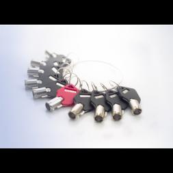 La clé passe supplémentaire pour câble antivol portable Safe-Tech®