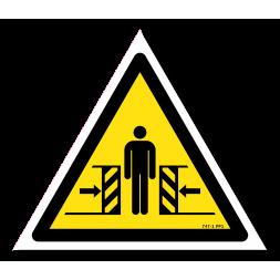 Panneau danger picto écrasement