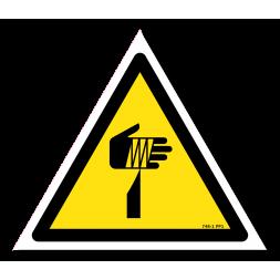 Panneau danger picto élément pointu