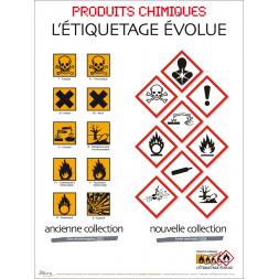 Etiquette pictogramme CLP