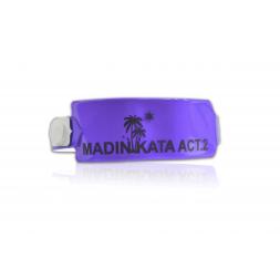 bracelet vinyle souple personnalise violet