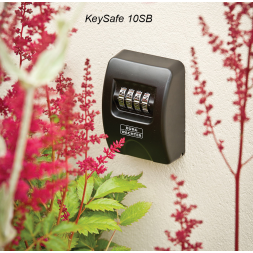 key safe fixed on wall