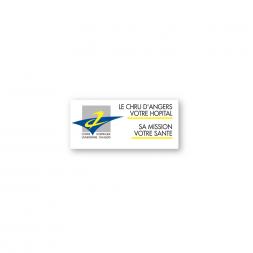 Descriptive Adhesive Sticker