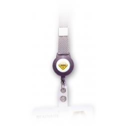 tour de cou pour badge zip enrouleur personnalise