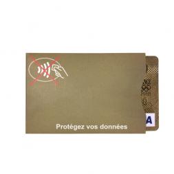 protection carte bancaire personnalisable