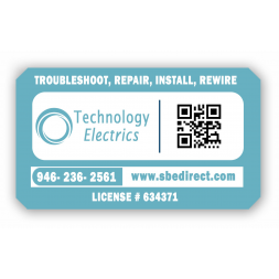 plaque protegee adhesif personnalisee technology electrics qr code