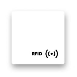 etiquette pvc sans contact rfid
