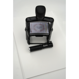 high security authentication stamp uv magnifying lamp en