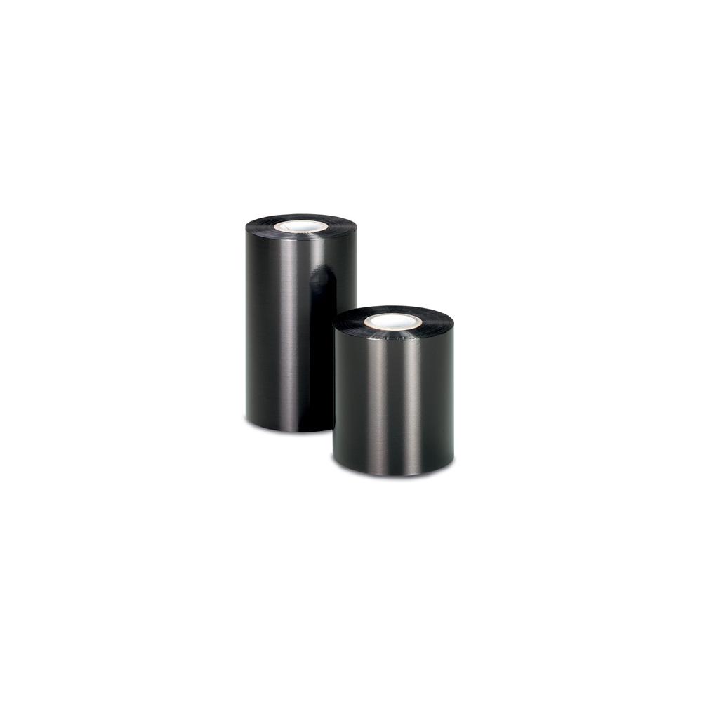12 rubans noirs pour imprimante transfert thermique