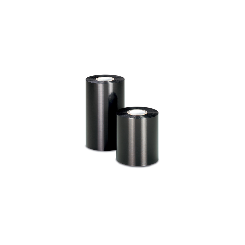 set of 12 black ribbons for thermal transfer printer resin