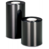 Set of 3 black ribbons for thermal transfer printer