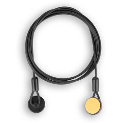 Câble antivol noir pour télécommande Safe-Tech