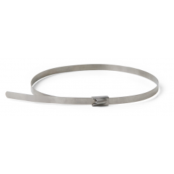stainless steel cable tie for tracking tag