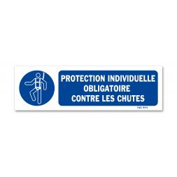 Panneau signalisation picto protection obligatoire contre les chutes