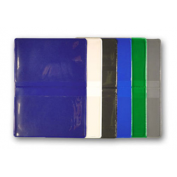 batch pvc double sided card holders multi colors en