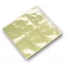 protege badge adhesif transparent