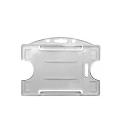 Porte-badges rigides avec ouvertures latérales