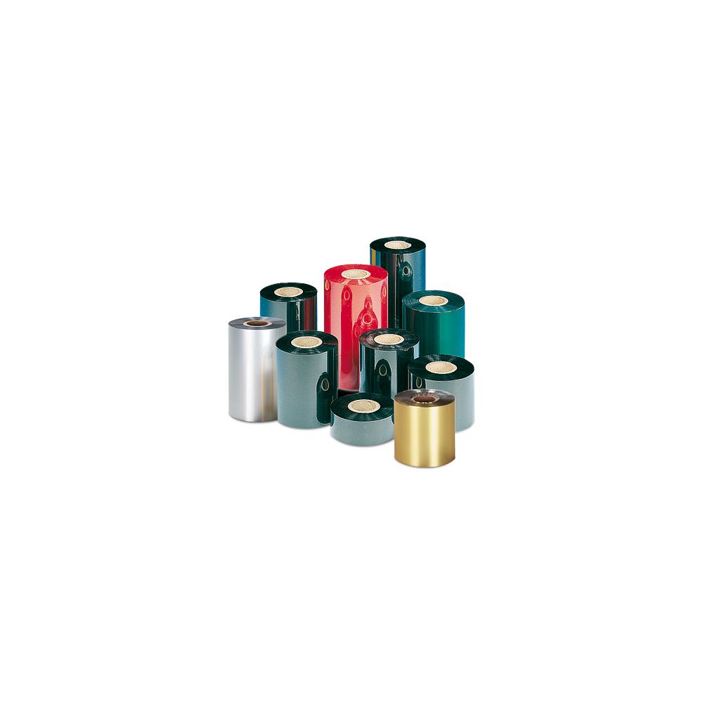 ruban cr74 transfert thermique couleur rouge resine