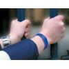 bracelets vinyle classique sur poignet