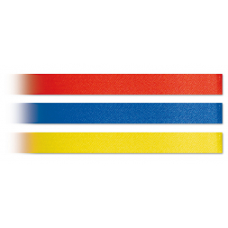 three low price satin wristband red blue yellow en