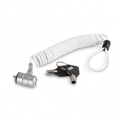 cable antivol portable ultra light blanc
