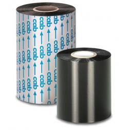 ruban b110c transfert thermique noir resine 55mm x 360m
