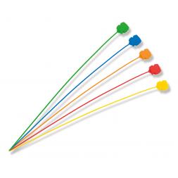 plomb à sceller plastique couleur à tige