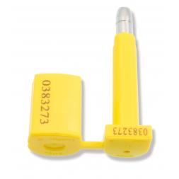 scelle pour containeur jaune