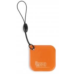 badge epoxy rfid couleur orange