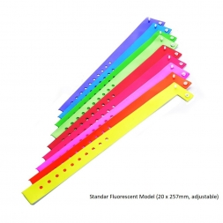 amazing fluorescent wristbands multi colors choice for every events