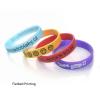 super beaux bracelets en silicone personnalisables