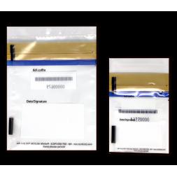 two different size tamper proof envelopes en