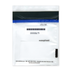 tamper proof envelope traceability barcode en