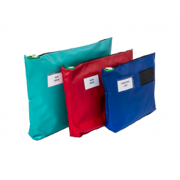 Secure Mail Shuttle Pouch
