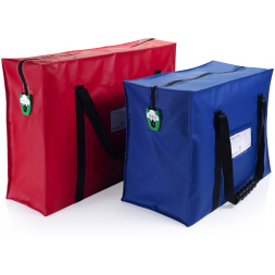 secure cash transport bag
