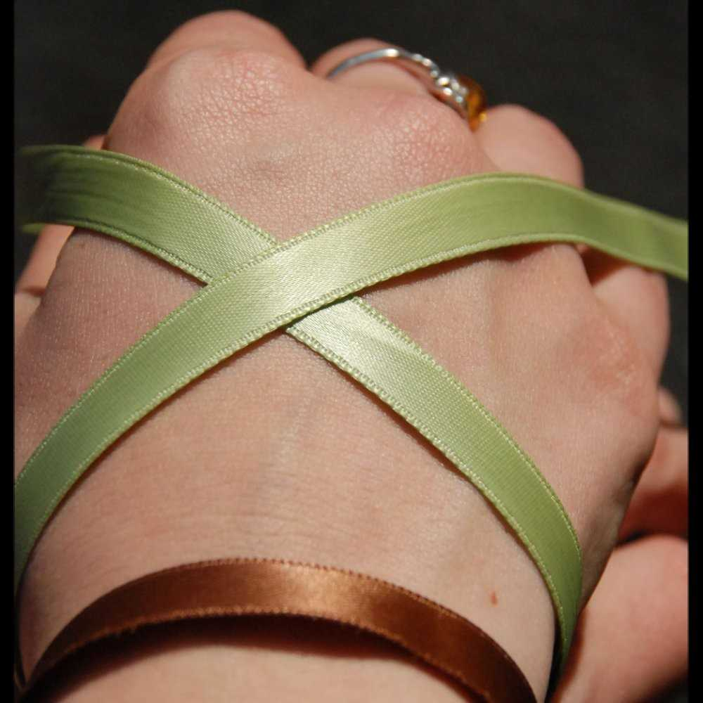 Satin wristbands