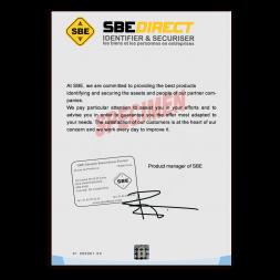 papier securise quinze points haute securite exemple utilisation anglais