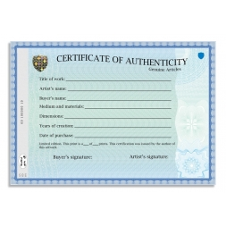 example use paper secure a4 personalized certificate authenticity