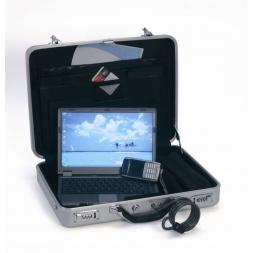Mallette de securite ordinateur portable ouverte