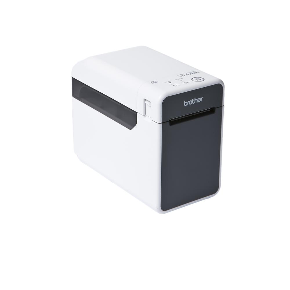 Brother TD-2120N thermal printer left