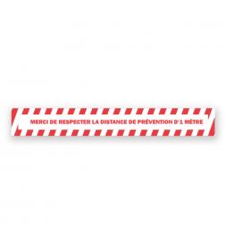 covid self-adhesive sign tape