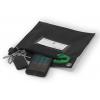 Pochette sécurisée pour transport de clés et smartphones ouverte