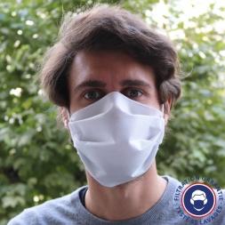 masque en tissu de face