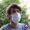 masque en tissu sur le visage