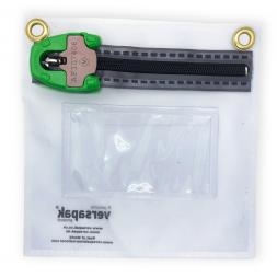 Pochette sécurisée transparente pour documents personnels et smartphones scellé