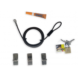 Eco Computer Cable Lock : The Complete Kit 1