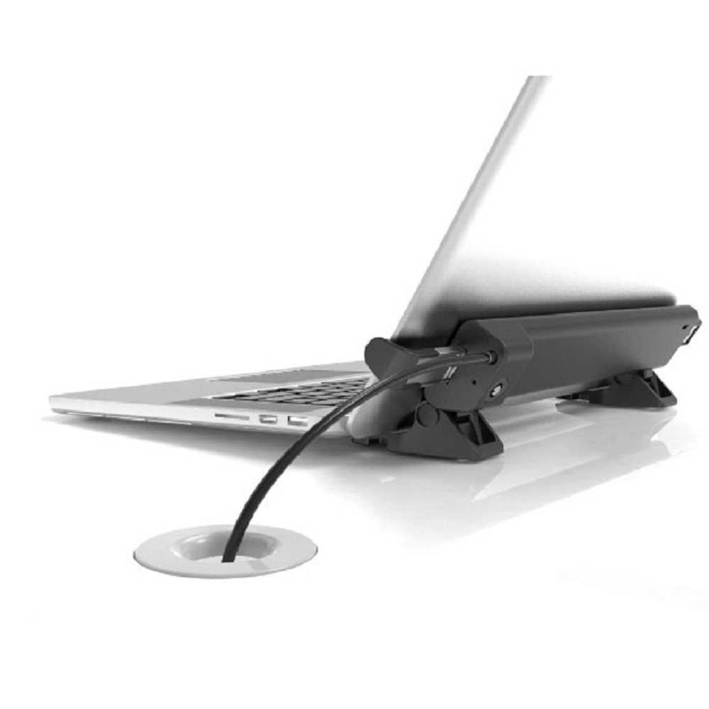 macbook with anti-theft anchor
