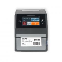 imprimante etiquette transfert thermique de face