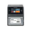 Front side thermal transfer label printer