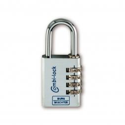 cadenas à combinaison combi lock 90 chromo
